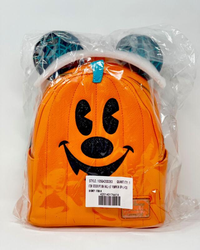 Disney Loungefly Mickey Mouse Jack-O