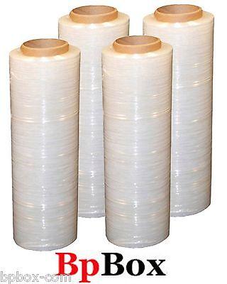100 Gauge 4 Stretch Film Rolls Wrap 18 X 1000 Clear
