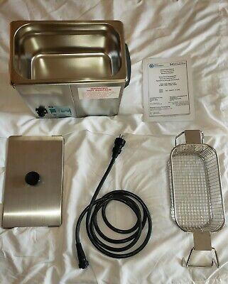 Crest Powersonic Ultrasonic Cleaner 2.8l Digital Timer Heat Power Control P230