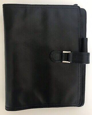 Franklin Covey Classic Full Grain Black Nappa Leather Planner