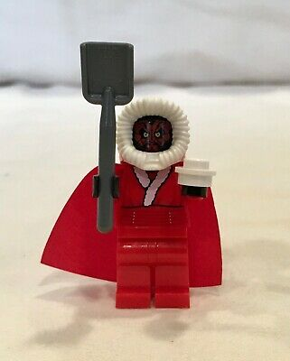 LEGO Christmas Star Wars Darth Maul Christmas Santa Version Minifigure 9509