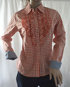 Womans-Pinstriped-Shirt-with-Neck-Tie-Size-20