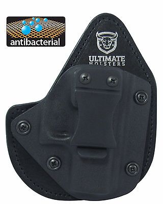Best Glock 42 Hybrid Holster - Most Comfortable IWB- SOFT ANTIMICROBIAL PADDING