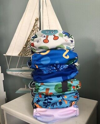 alva baby cloth diapers lot