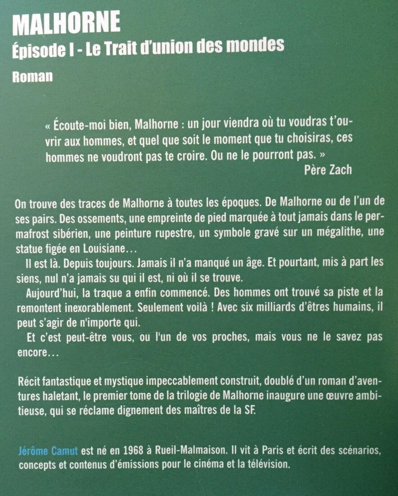 Roman 'malhorne' episode 1/tome 1 de j. camut – etat correct