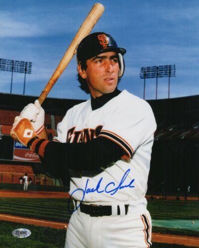 Jack Clark Autograph Signed 8x10 Photo - San Francisco Giants (Zobie COA)