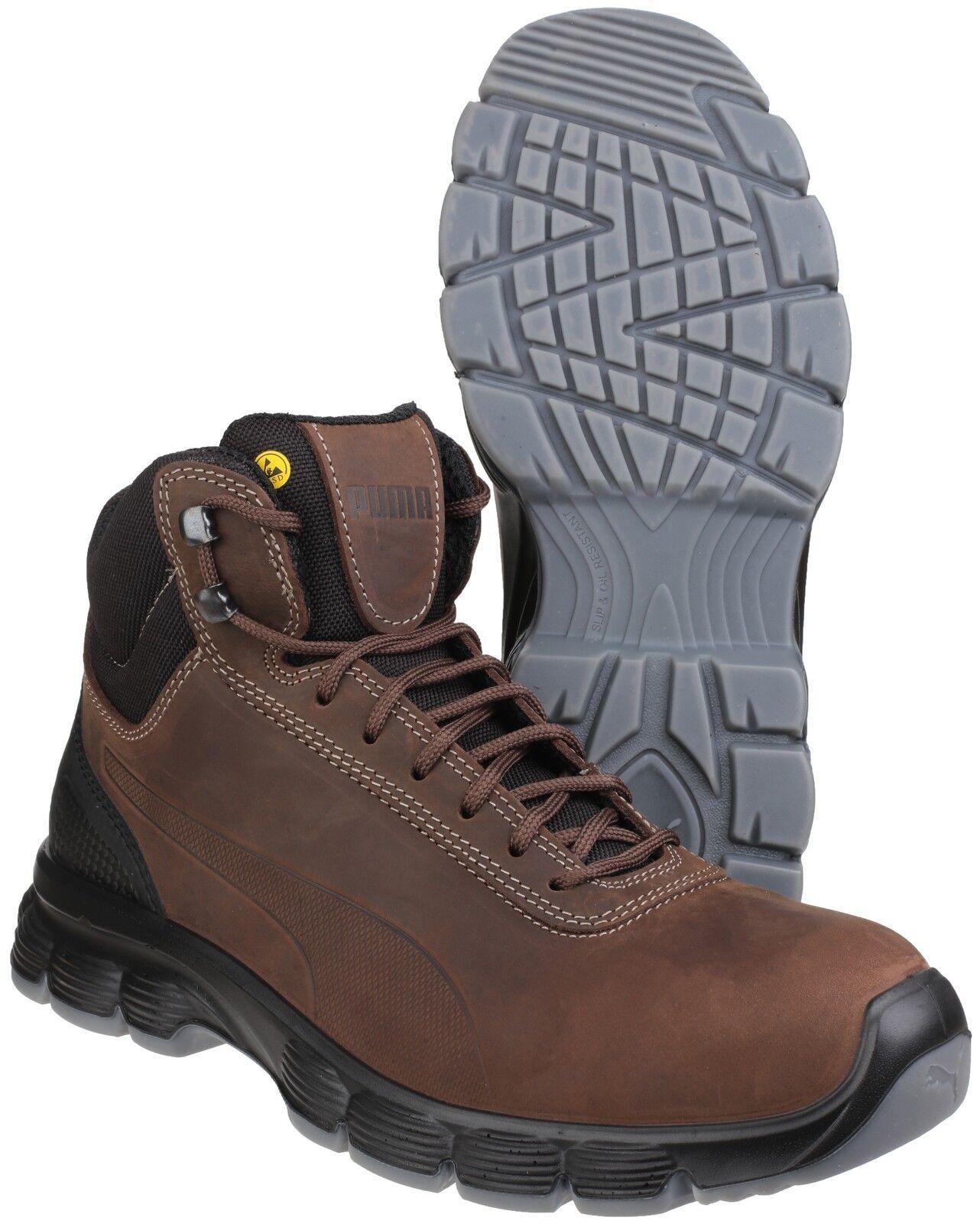 Detalles de Puma Condor mediados De Seguridad Resistente Al Agua Zapatos Botas Para Hombre Trabajo Industrial UK6 12 ver título original