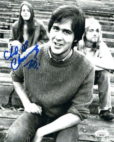 Nirvana drummer Chad Channing signed 8x10 photo JSA COA