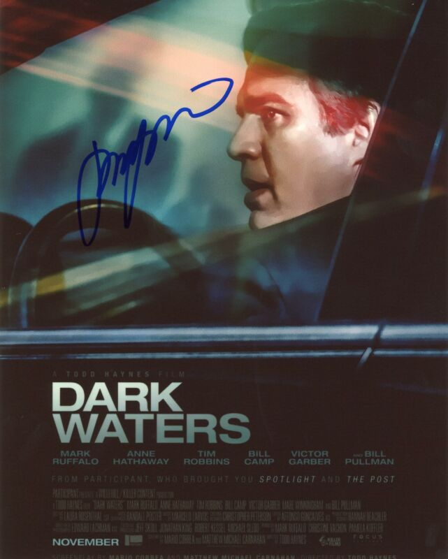 "Todd Haynes ""Dark Waters"" Director AUTOGRAPH Signed 8x10 Photo B"