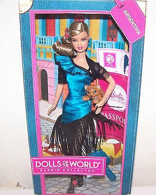 Barbie Dolls Of The World Argentina Barbie