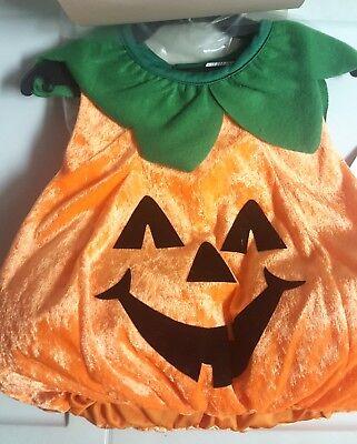 Infant Toddler Plush Pumpkin Halloween Costume (NEW) - Pumpkin Halloween Costume Toddler