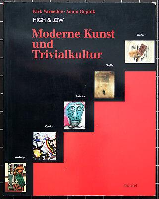 Kirk Varnedoe, Adam Gopnik.HIGH & LOW.  Moderne Kunst und Trivialliteratur.