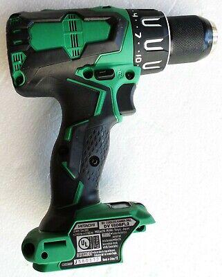 New Hitachi -in 18v Cordless Brushless Hammer Drill Wbonus Bits