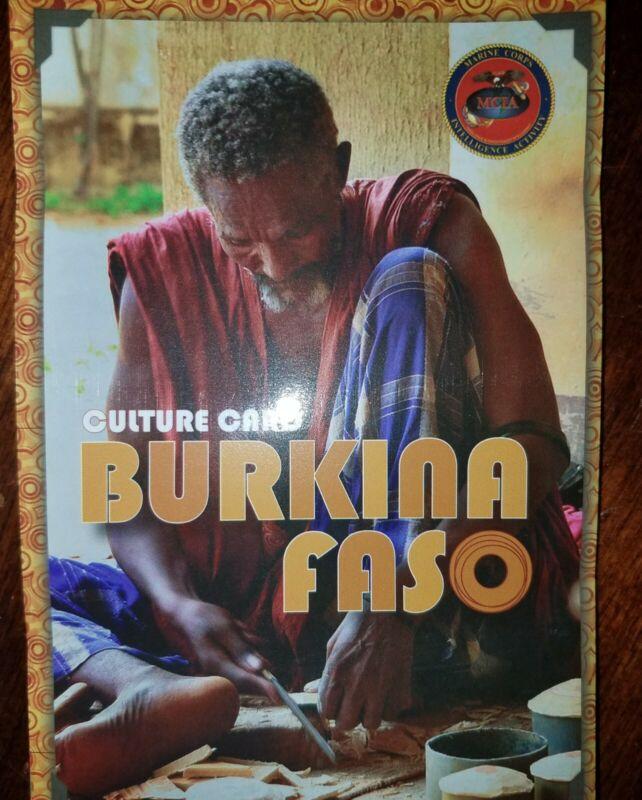 US Army USMC Burkina Faso Cultural Smart Card