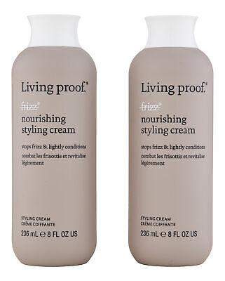 Living Proof No Frizz Nourishing Styling Cream 2 ct 8 oz. Ha