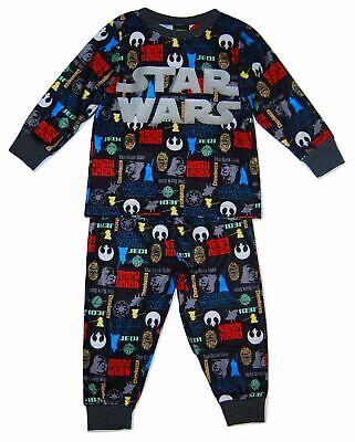 Boys Disney Star Wars Pyjamas Darth Vader Sith Lightsaber 2 upto 10 Years