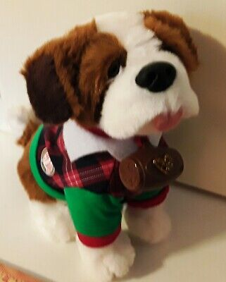 Elf on The Shelf EPSB Pets: A St. Bernard Tradition Plush Toy Barrel & Jacket