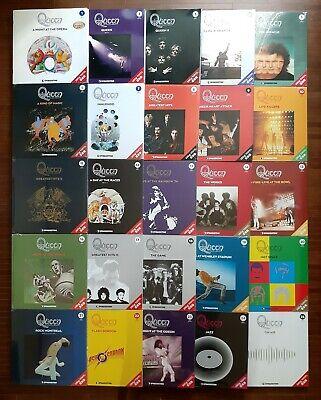 QUEEN Vinyl Collection SEALED Lot of 25 TITLE LP 180g Bundle DeAGOSTINI Japan