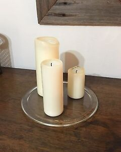 Candles and glass plate set must go! Hornsby Hornsby Area Preview