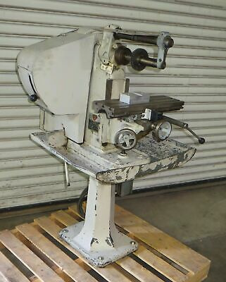 Benchmaster Horizontal Mill Model Mh1 Milling Machine Table 18 X 6 Made In Usa