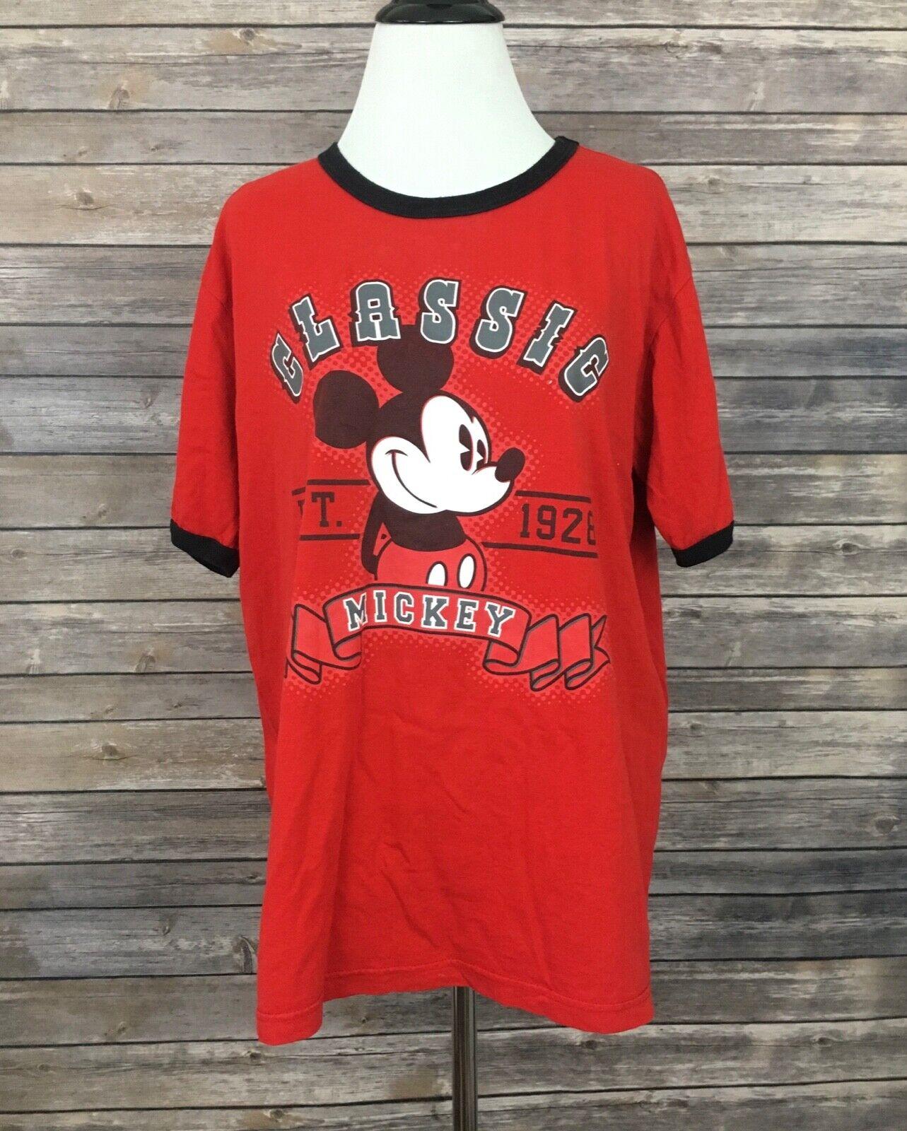 Disney Store organic cotton classic Mickey t-shirt