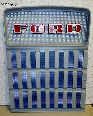 Tractor Front Grill Set To Fit Ford 4110 4140 4190 4200 4330 4340 4400 4410