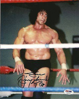 Superfly Jimmy Snuka Signed 8X10 Photo Psa Dna Coa Wwe Picture Autograph Wwf Nwa