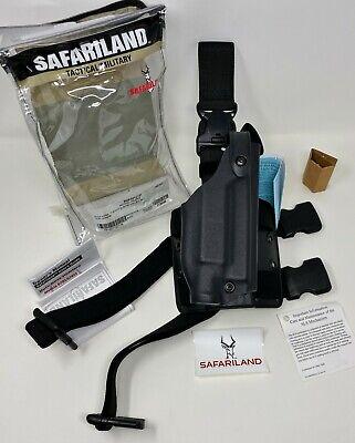 Safariland 6005 Sls Tactical Rh Leg Holster Qd Strap Glock 17 22 19 23 W Light