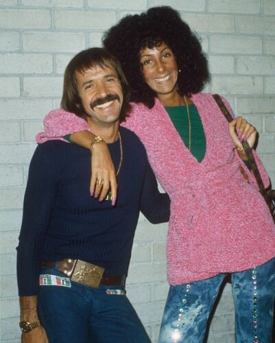 SONNY AND CHER - MUSIC PHOTO #E-62
