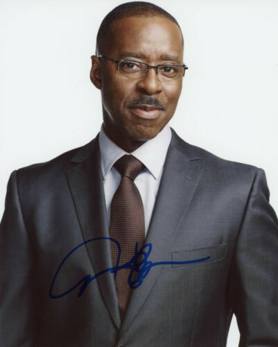 "Courtney B. Vance ""Law & Order: Criminal Intent"" AUTOGRAPH Signed 8x10 Photo B"