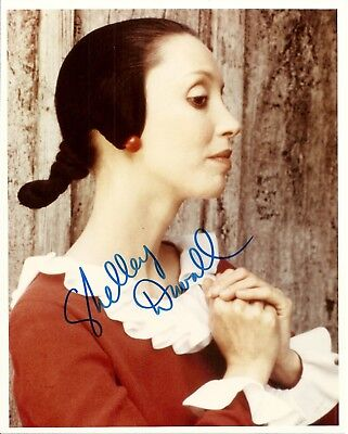 Shelley Duvall  Rare    Popeye   The Shining  8X10 Signed Autograph World Coa
