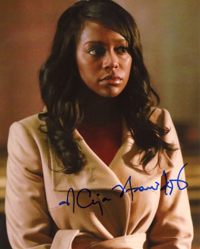 "Aja Naomi King ""How to Get Away with Murder"" AUTOGRAPH Signed 8x10 Photo C ACOA"