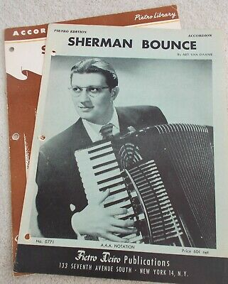 "/"" Arr Accordion Sheet Music /""THE SWALLOW for accordion by Pietro Deiro Waltz"