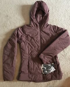 Black diamond first light insulated jacket women sz small