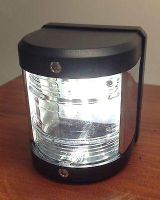 MARINE BOAT WHITE STERN LED NAVIGATION LIGHT WATERPROOF 2 NAUTICAL (Miles Navigation)