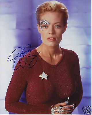 JERI RYAN AUTOGRAPH SIGNED PP PHOTO POSTER 1
