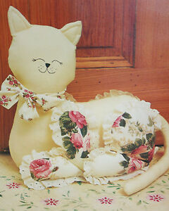 Cat Door Stop or Toy Sewing Pattern