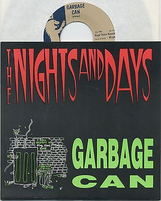 "NIGHTS AND DAYS Garbage Can - Ltd. ed. US 1988 7"" w/ insert - Numbered 560/600 (Garbage Can Rock)"