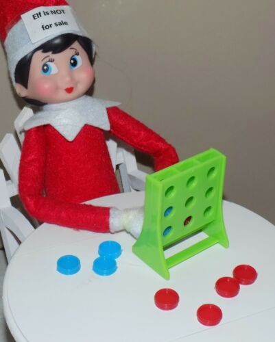 CHRISTMAS ELF PROPS MINI CONNECT GAMES ACCESSORY FOR ON THE SHELF SANTA TOYS