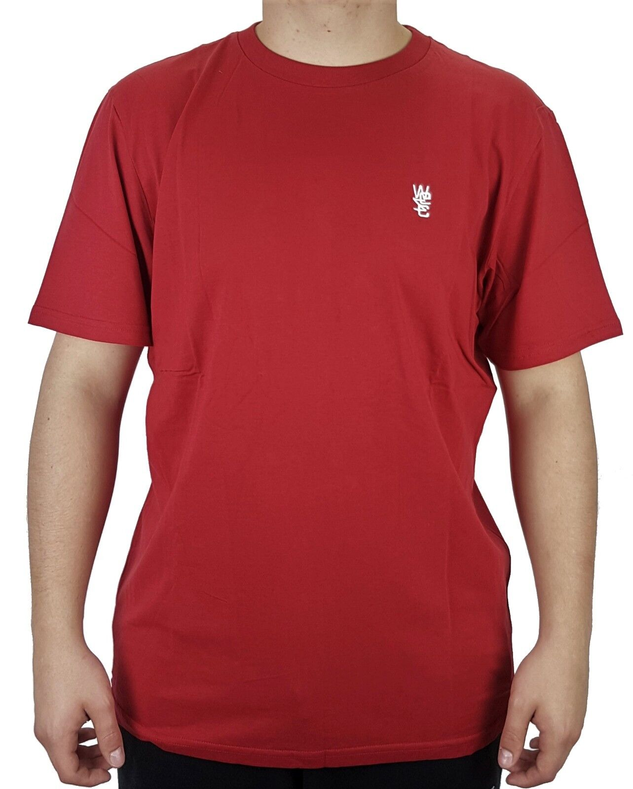 WESC Ove Herren T-Shirt Shirt Freizeitshirt Herrenshirt Kurzarmshirt Rundhals