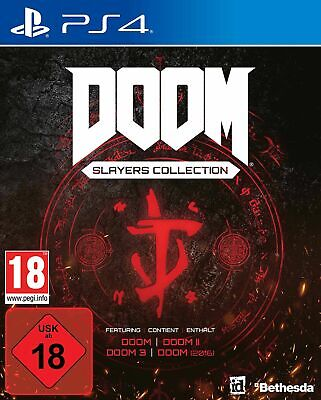 DOOM Slayers Collection (PS4) In Stock Now New & Sealed Free UK P&P