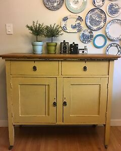 100 yr old buffet refinished