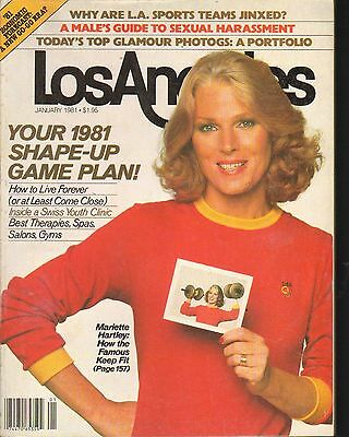 Jan 1981   Los Angeles Local News Magazine Mariette Hartley