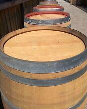 Genuine French Wood Oak Half Full Wine Barrel Barrique Hogshead Fairy Meadow Wollongong Area Preview