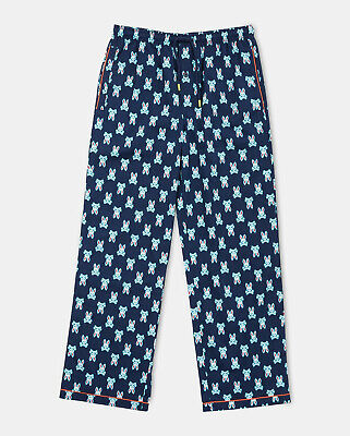 "ma Bunny"" Lounge Pants PJs, NWT - Mens Large - Black (Bunny Pjs)"