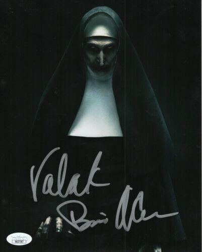 "Bonnie Aarons Autograph Signed 8x10 Photo - The Nun ""Valak"" (JSA COA)"