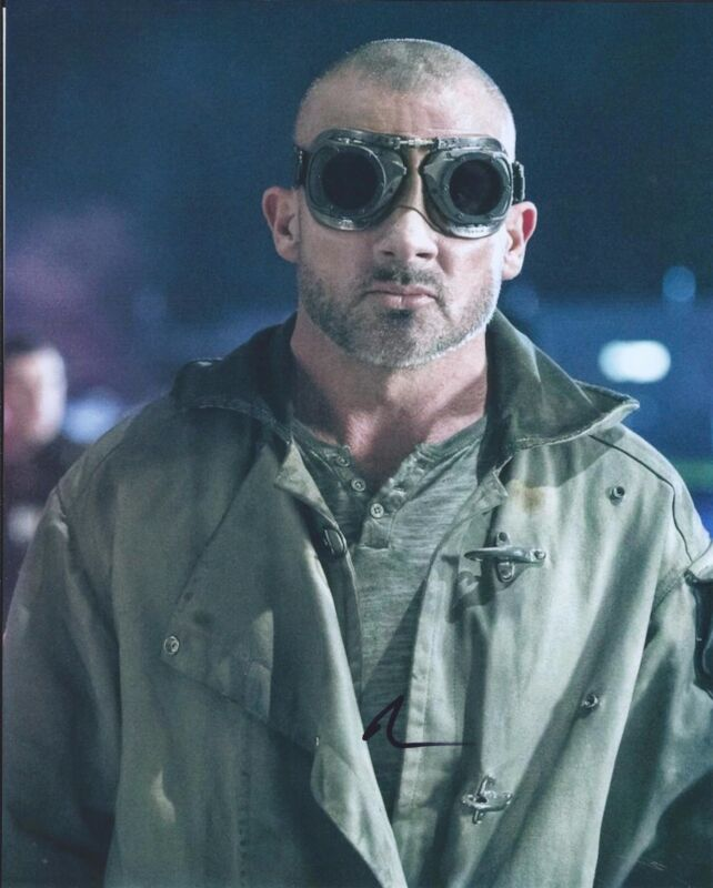Dominic Purcell Signed Autographed 8x10 Photo The Flash Prison Break A