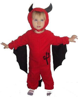 Teufel Satan Kinder Kostüm Faschingskostüm Fasching Karneval Karnelvalskostüm