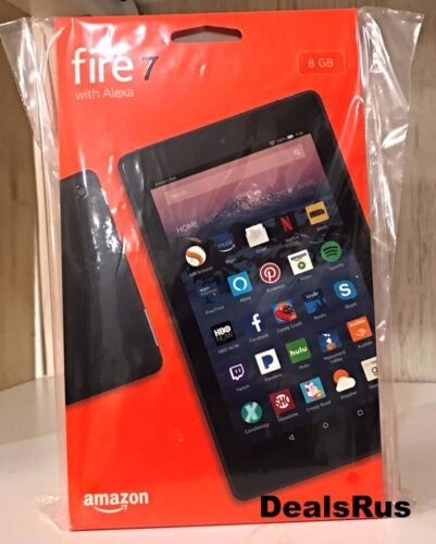"NEW Amazon Kindle Fire 7"" Tablet with ALEXA 8GB Black - **LA"