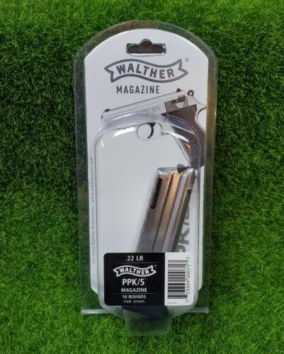 Walther PPK/S 22LR OEM Pistol Magazine MAG .22 LR Long Rifle 10 Round - 503600